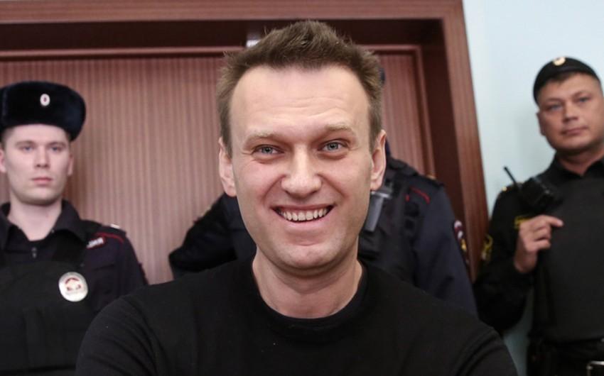 Rusiyalı müxalifətçi Aleksey Navalnı sərbəst buraxılıb