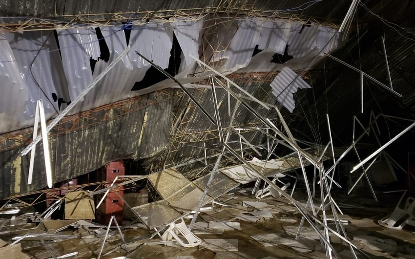 Peru: 6 dead as roof collapses during party