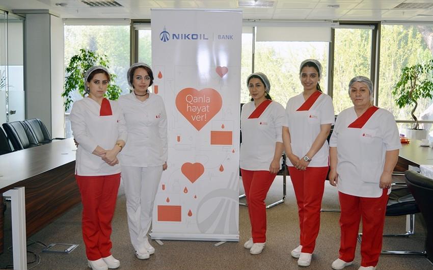 Сотрудники Nikoil Bank сдали кровь