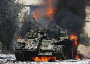 В России на территории воинской части вспыхнул пожар
