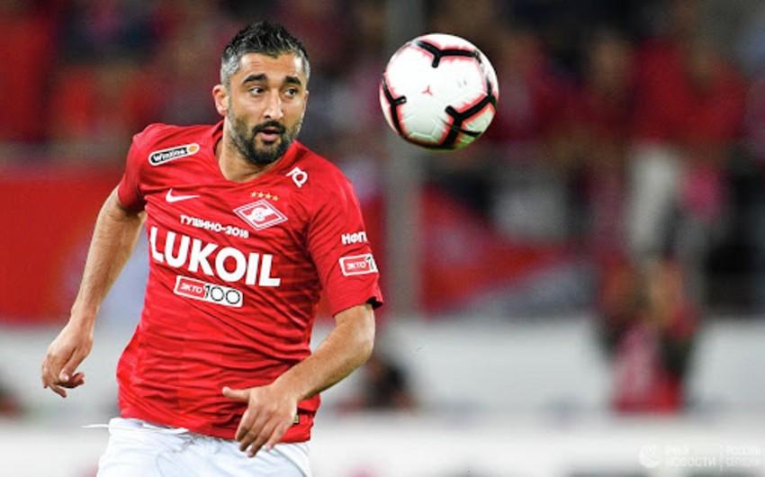 Azərbaycanlı futbolçu karyerasını kubok matçı ilə bərpa etdi