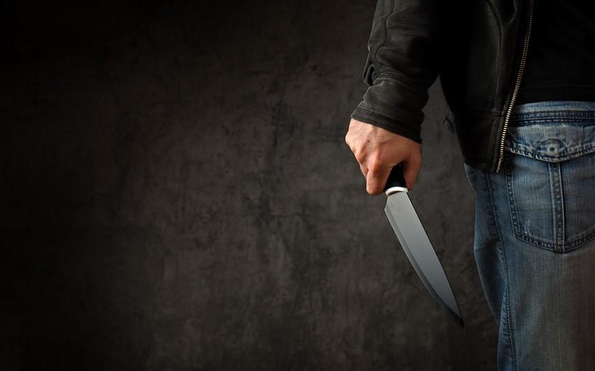 Bakıda 30 yaşlı şəxsi bıçaqlayan tutuldu