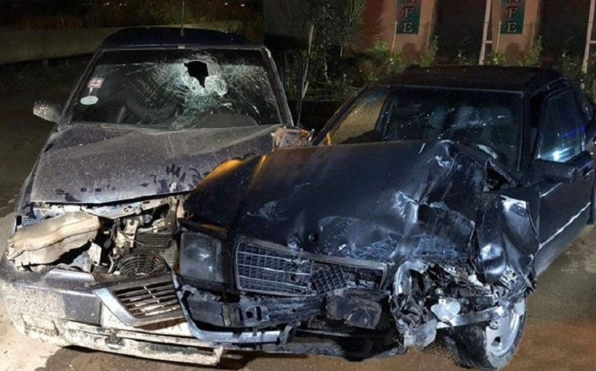 Bakıda 43 yaşlı kişi yol qəzasında xəsarət aldı