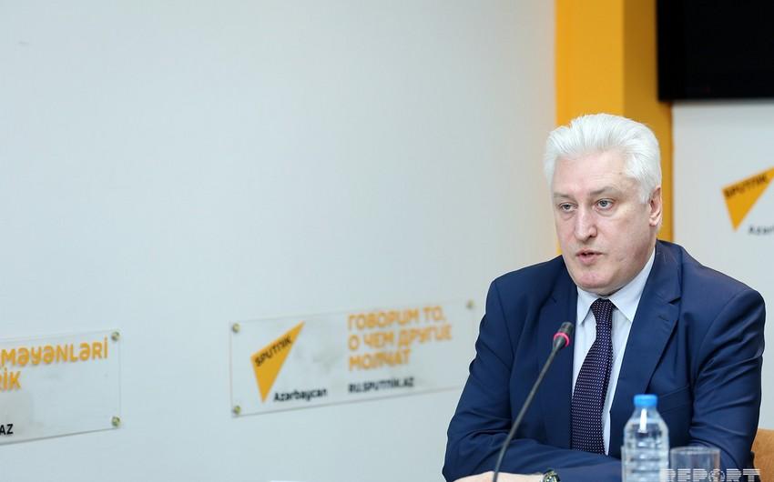 İqor Korotçenko: Azərbaycanı mövqeyini konkret ortaya qoyan etibarlı tərəfdaş hesab edirik