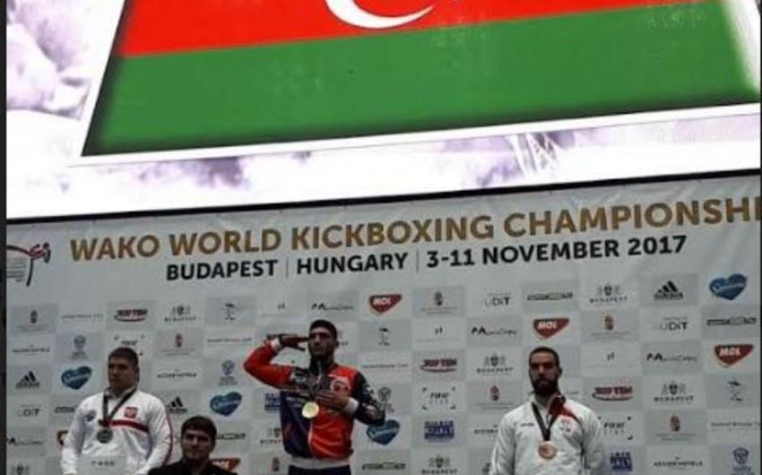 Azərbaycan kikboksçusu ilk dəfə K-1 növündə dünya çempionu olub
