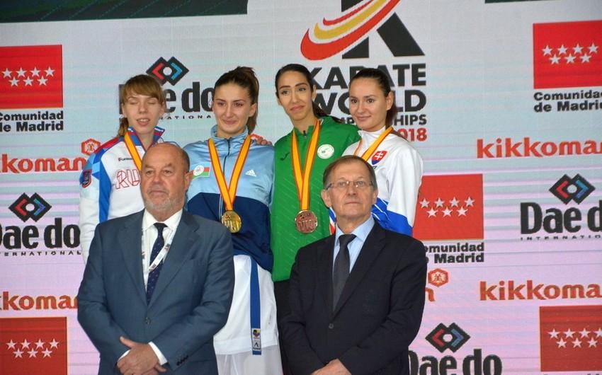 Azərbaycanın qadın karateçisi dünya çempionu olub