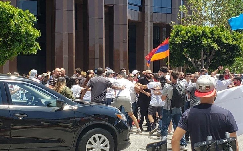 LA Police Investigate Armenia's hate crimes against Azerbaijanis