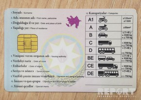 New driving licenses: Should first name and last name be written in English alphabet?