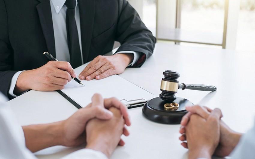 Bu ilin ilk üç ayında 3 823 boşanma halı olub