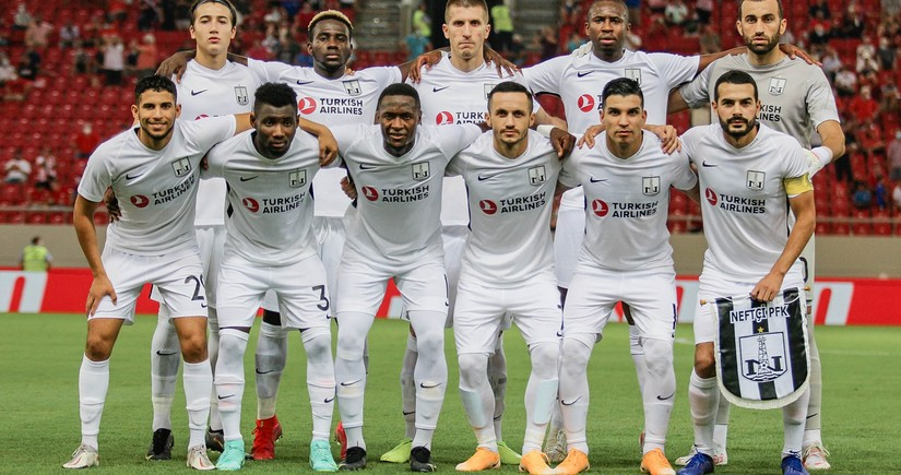Starting lineups of Neftchi and Olympiacos announced