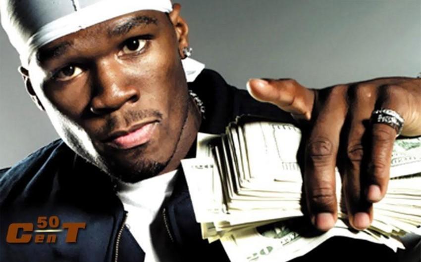 Amerikalı repçi 50 Cent müflis olduğunu elan edib