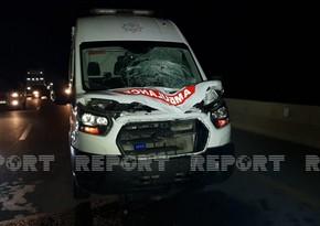 В Уджаре машина скорой помощи сбила пешехода