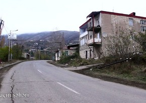 Footage of Lachin city