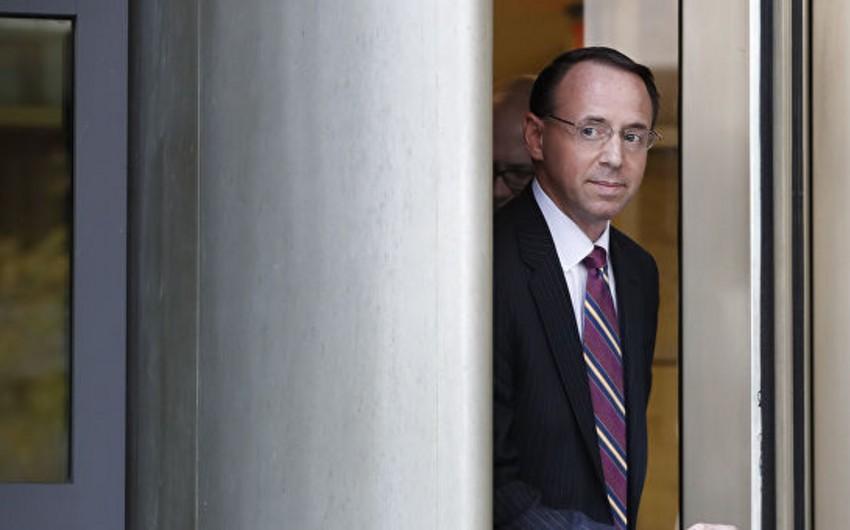 ABŞ-ın baş prokurorunun birinci müavini vəzifəsindən istefa verib