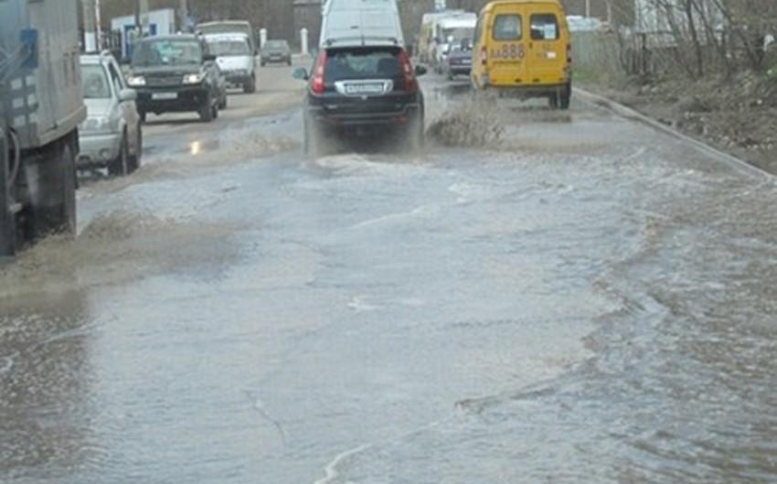 Leysan yağışları Tbilisidə güclü daşqınlara səbəb olub