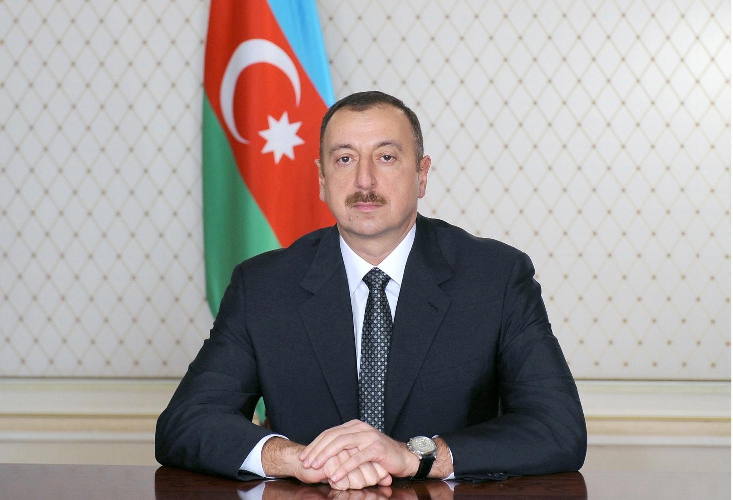 Azərbaycan Prezidenti Çex Respublikasının dövlət başçısını təbrik edib