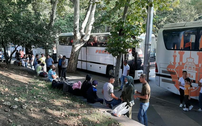Next group of Azerbaijanis evacuated from Georgia