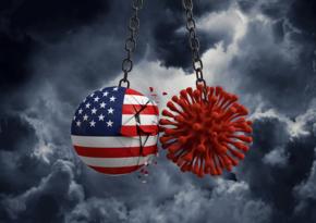 В США выявили свыше 57 тыс. новых случаев коронавируса за сутки