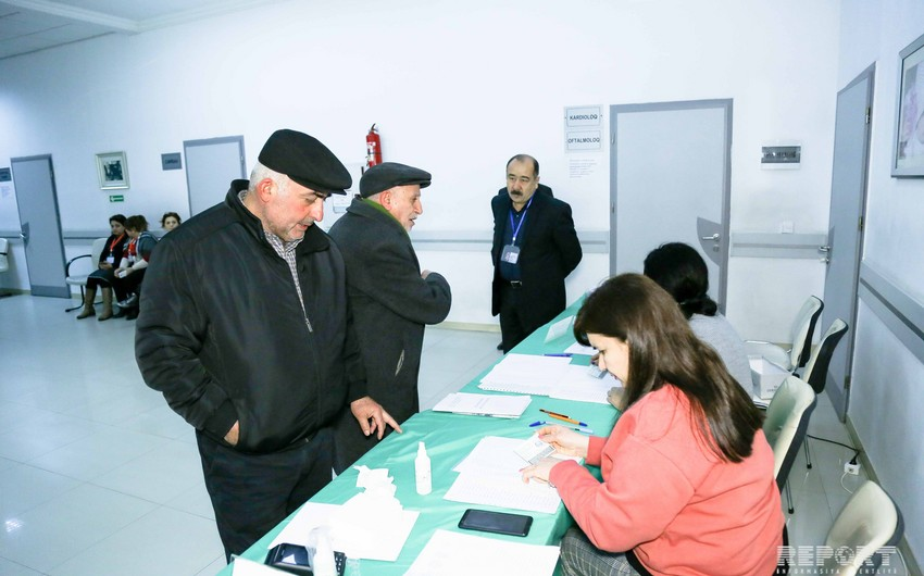 Voter turnout by 12:00 am announced