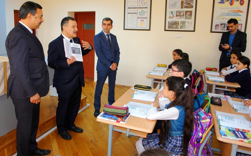 Aydin Mirzezade presents his book devoted to baby girl Zahra killed by Armenians