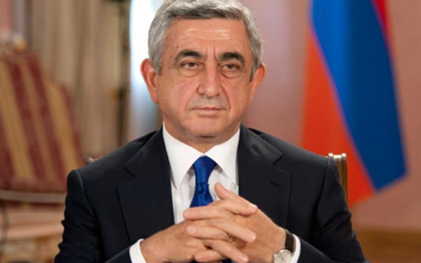 Serj Sarkisyan: Azərbaycanlılar ermənilərdən daha ləyaqətlidirlər