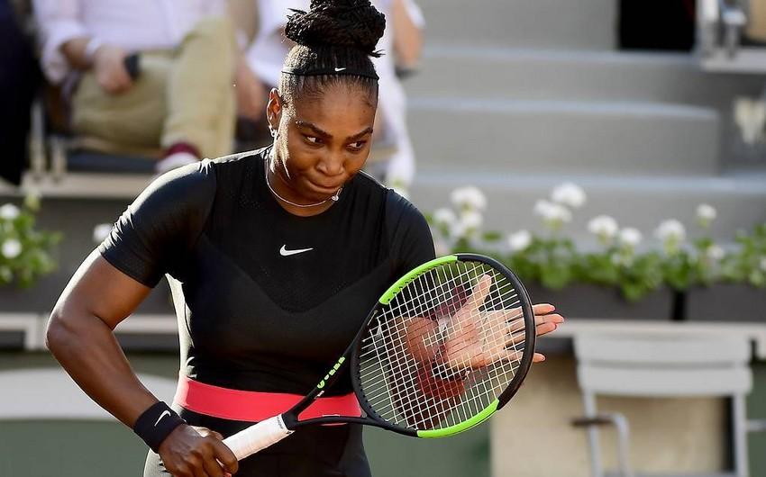 ABŞ tennisçisi Serena Uilyams böyük məbləğdə cərimələnib