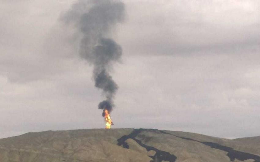 Bakıda dünyanın ikinci böyük palçıq vulkanında püskürmə baş verib - VİDEO