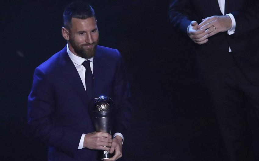 Lionel Messi ilin ən yaxşı futbolçusu olub