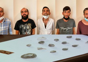 Abşeronda narkotik vasitələrinsatışı ilə məşğul olan 5 nəfər saxlanılıb