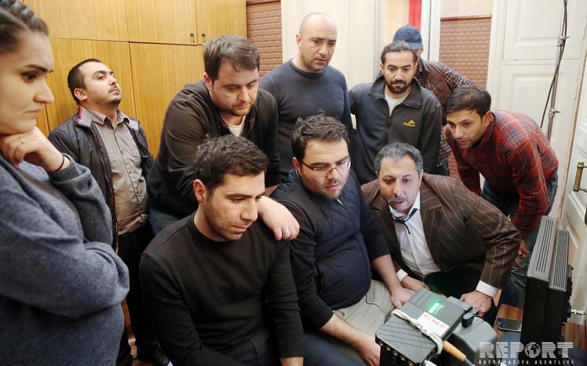 Bakıda Qaragöz komediya filminin çəkilişlərinə başlanıb - REPORTAJ