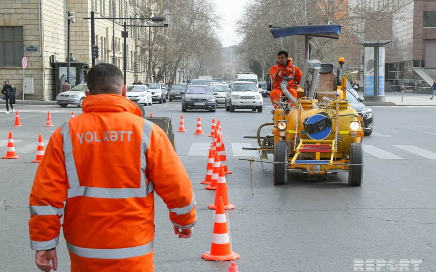 Traffic movement to be restricted on some Baku streets