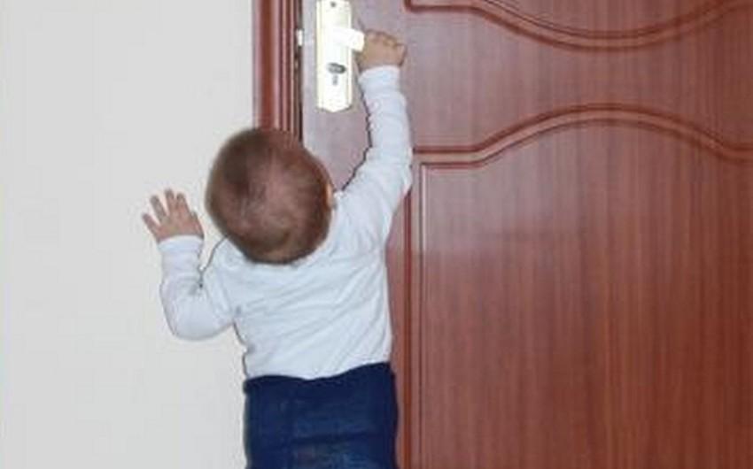 Bakıda azyaşlı uşaq xilas edilib