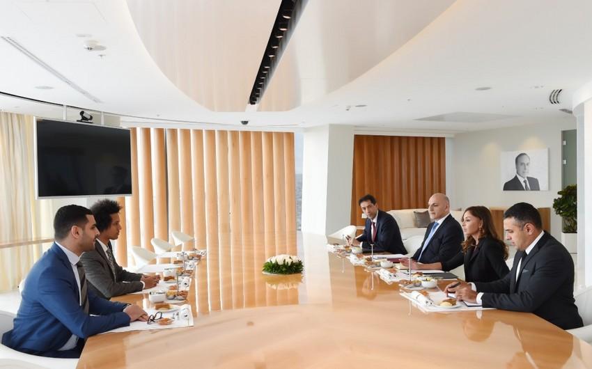 Mehriban Aliyeva meets with members of France-Azerbaijan Friendship Group