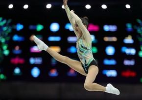 Azerbaijani gymnast wins bronze medal