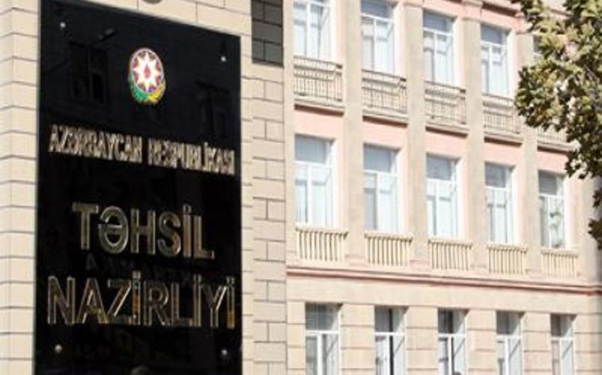 Azərbaycan Təhsil Nazirliyinin strukturuna daxil olmayan tabeliyindəki qurumların siyahısı ilə bağlı qərara dəyişiklik edilib