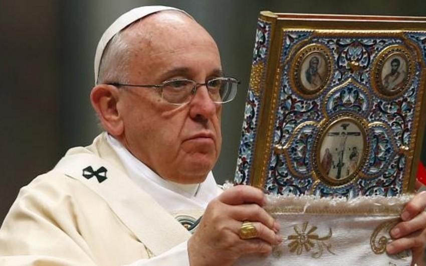 Türkiyə Vatikandan izahat tələb edib