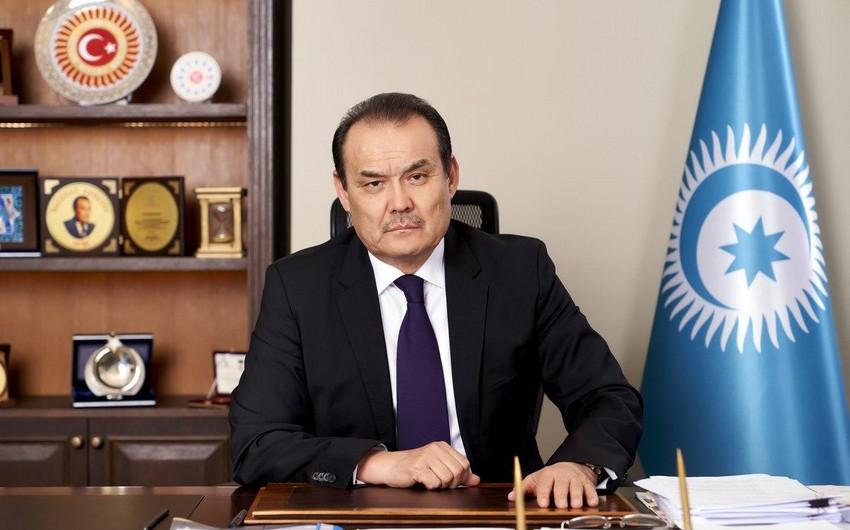 Тюркский Совет поздравил Азербайджан с Днем флага