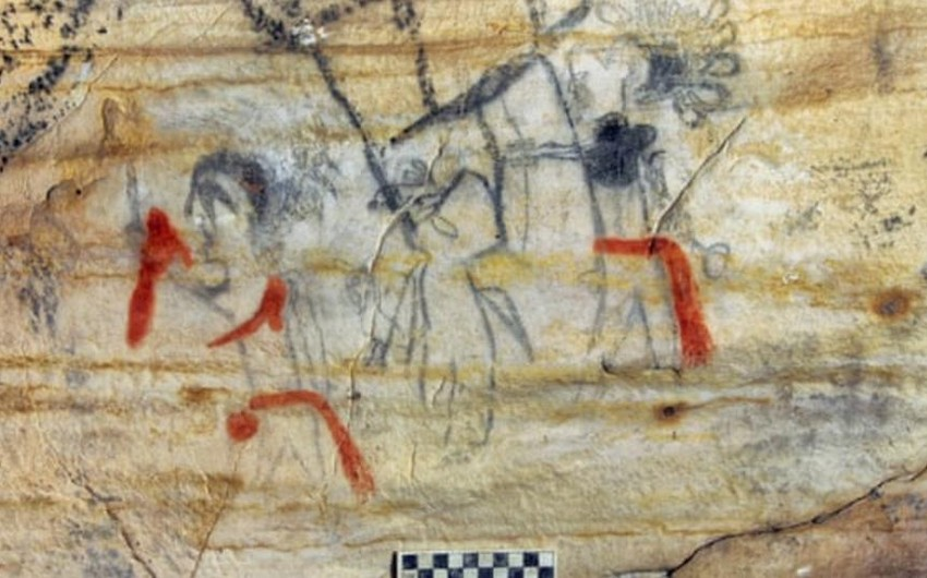 Cave containing Native American artwork sold in US
