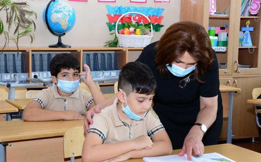 В Зардабе две школы перешли на дистанционноеобучение