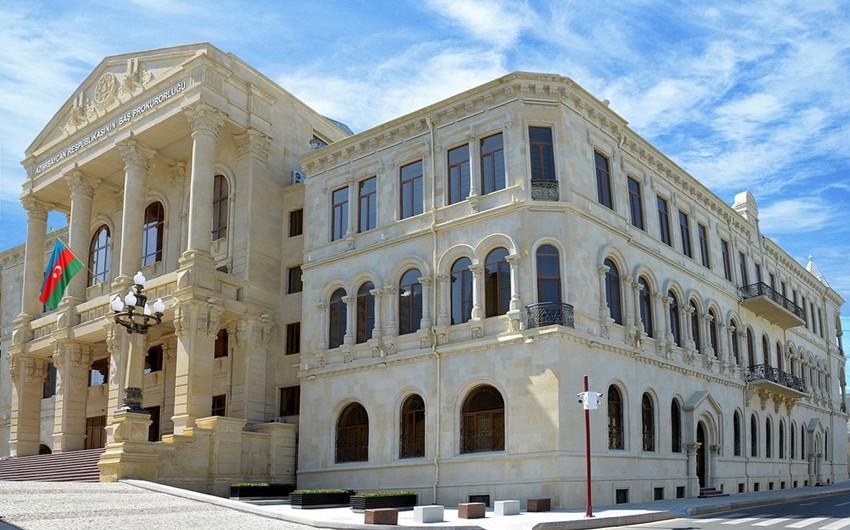 Baş Prokurorluq: Bakı şəhər İcra Hakimiyyətinin sərəncamının saxtalaşdırılması faktı ilə bağlı cinayət işi başlanıb