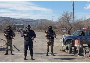 Задержаны пытавшиеся незаконно проникнуть на освобожденные земли