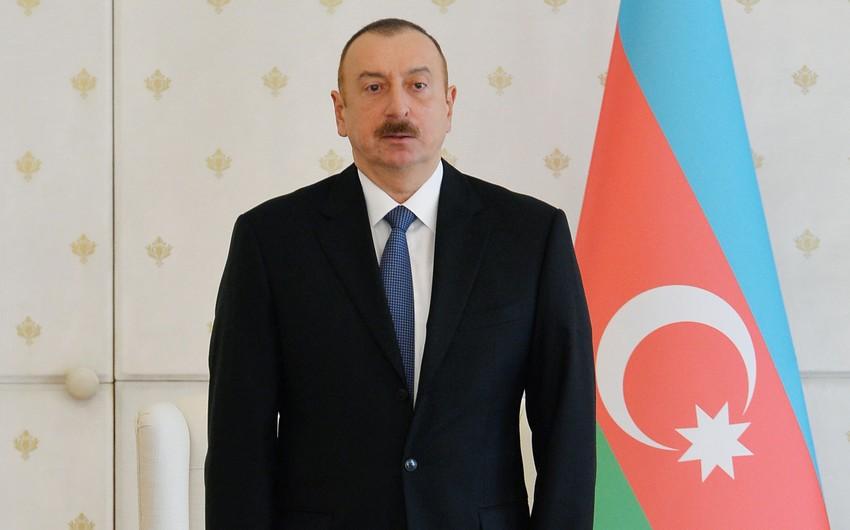 Prezident: Qarabağ münaqişəsinin həlli ilə bağlı hüquqi baza yaradılıb