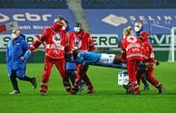 Napoli player Victor Osimhen taken to hospital