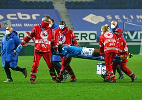 Napoli player Victor Osimhen taken to hospital