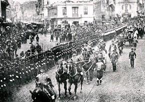 103 years pass since liberation of Baku from Armenian-Bolshevik occupation