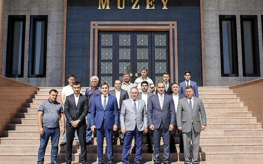 Naxçıvanda futbol üzrə III Heydər Əliyev kubokuna start verilib