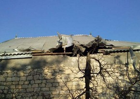 Armenia shells at Terter: House severely damaged