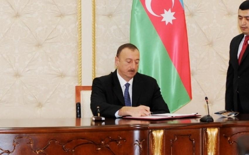 Prezident Cənubi Qafqaz Boru Kəmərinin genişləndirilməsinin daha səmərəli təşkili ilə bağlı fərman imzalayıb