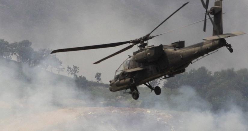 В США разбился военный вертолет