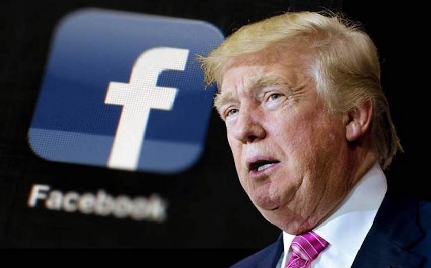 """""""Facebook"""" Trampın paylaşdığı videonu silib"""